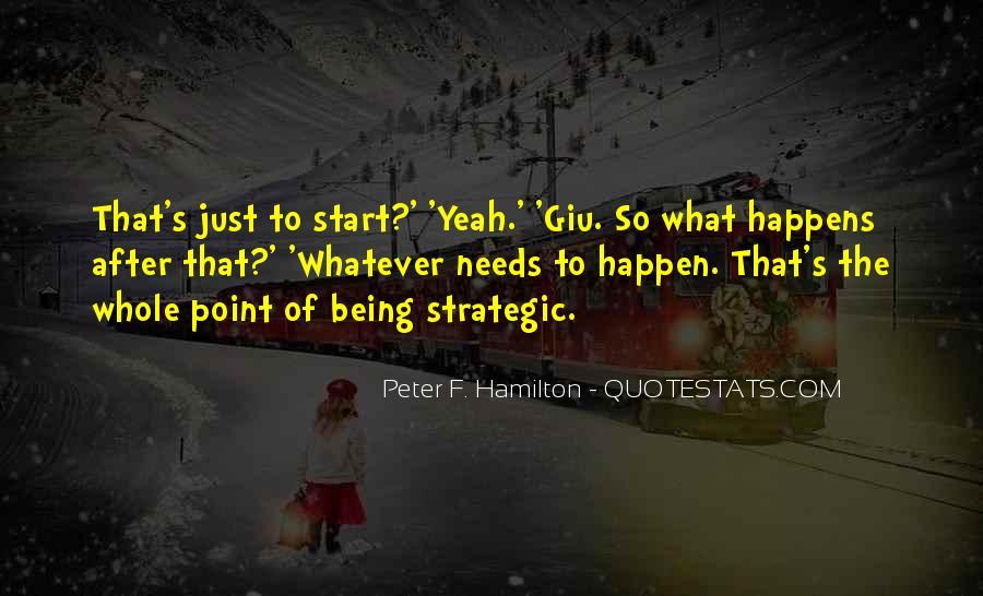 Peter F. Hamilton Quotes #1337222
