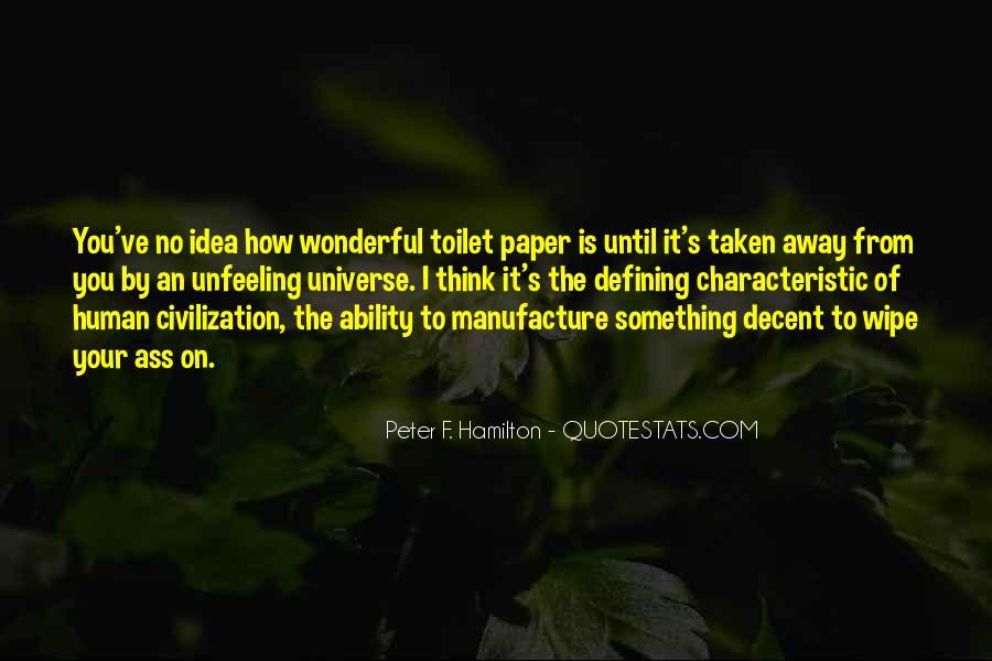 Peter F. Hamilton Quotes #135764