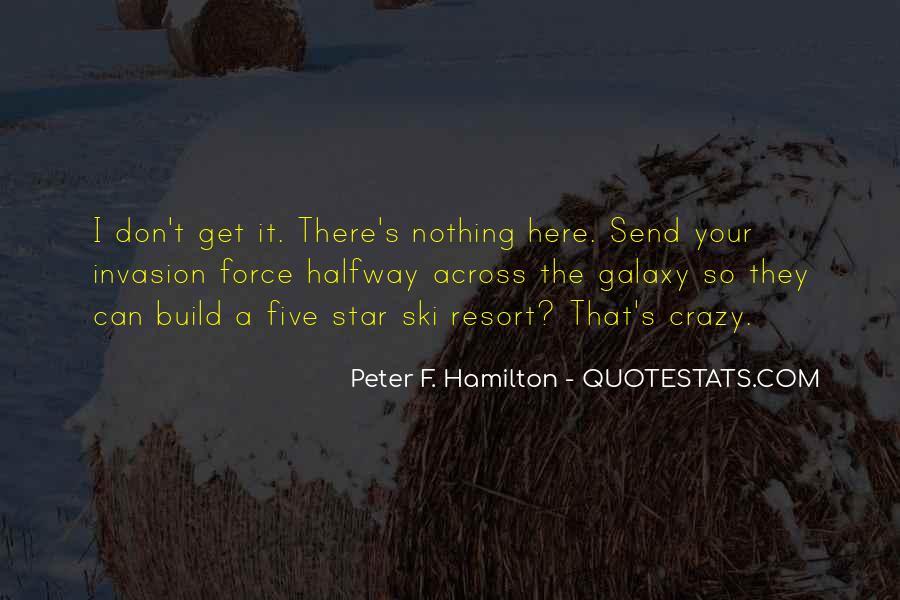 Peter F. Hamilton Quotes #1387268