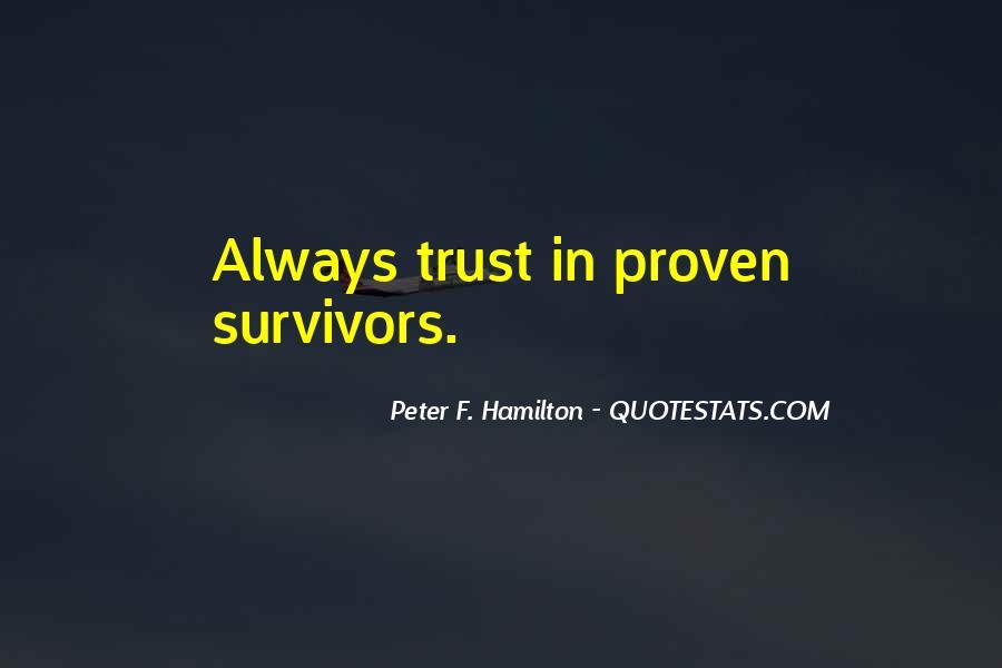 Peter F. Hamilton Quotes #1452496