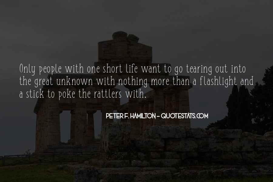 Peter F. Hamilton Quotes #1453117