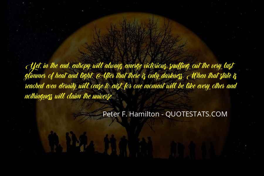 Peter F. Hamilton Quotes #1570302