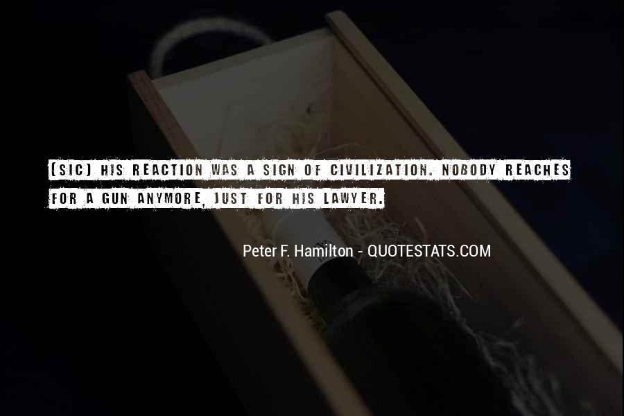 Peter F. Hamilton Quotes #1728081