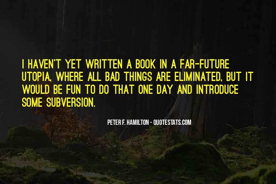 Peter F. Hamilton Quotes #1753430