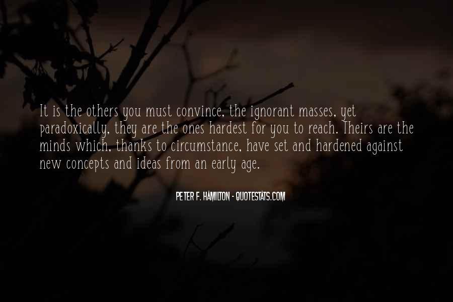 Peter F. Hamilton Quotes #1796673