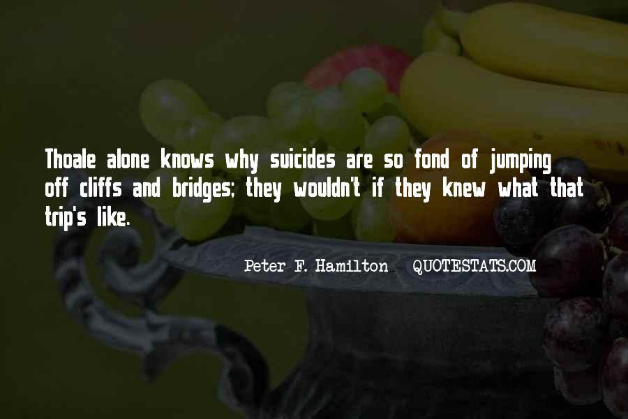 Peter F. Hamilton Quotes #1817301
