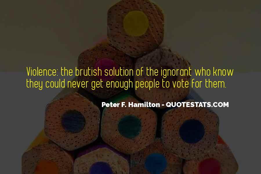 Peter F. Hamilton Quotes #1824638