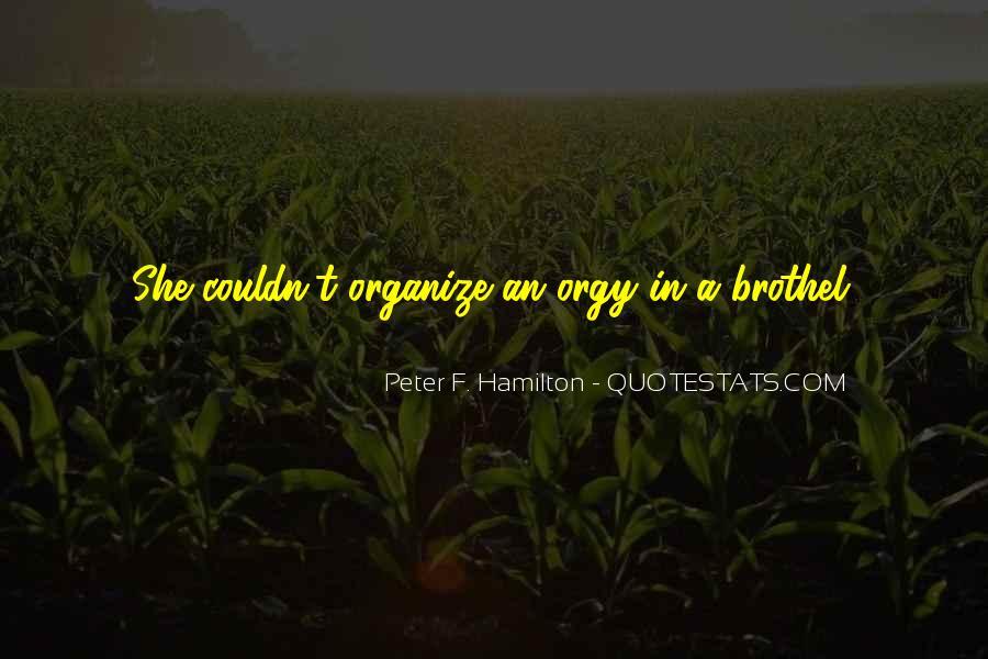Peter F. Hamilton Quotes #261230