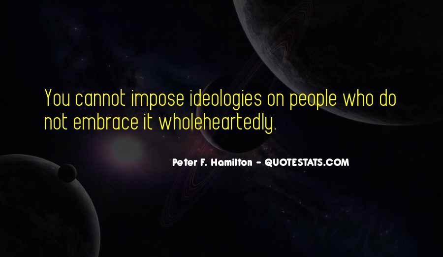 Peter F. Hamilton Quotes #285700