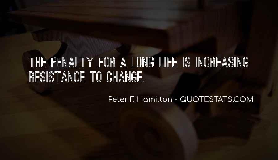 Peter F. Hamilton Quotes #4181