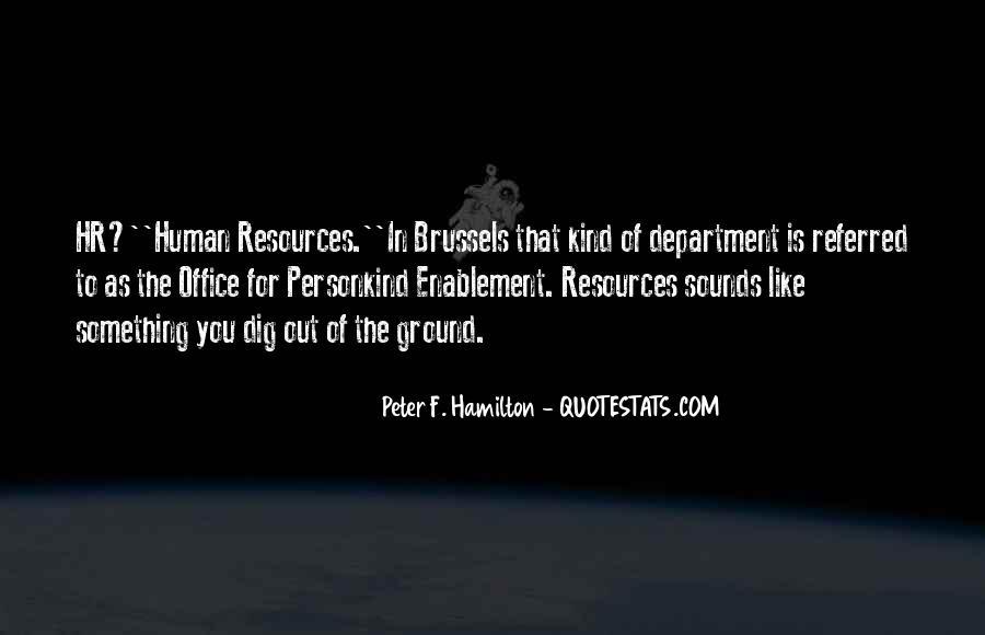 Peter F. Hamilton Quotes #439091