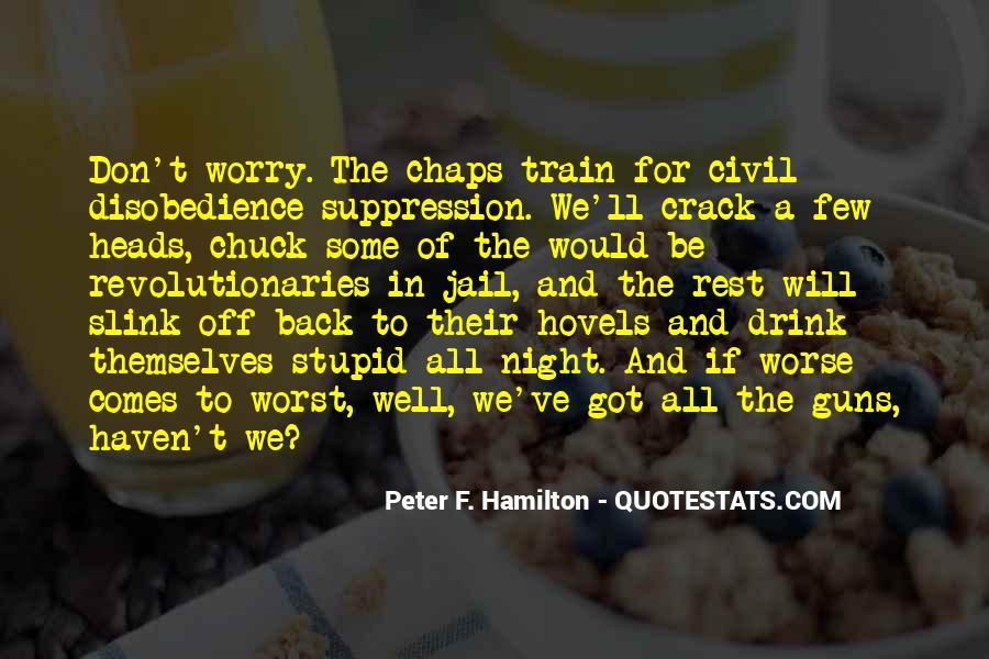 Peter F. Hamilton Quotes #502210
