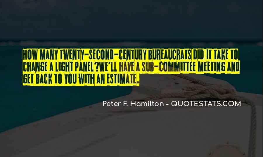 Peter F. Hamilton Quotes #655796