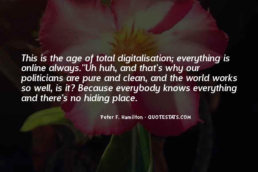 Peter F. Hamilton Quotes #713795