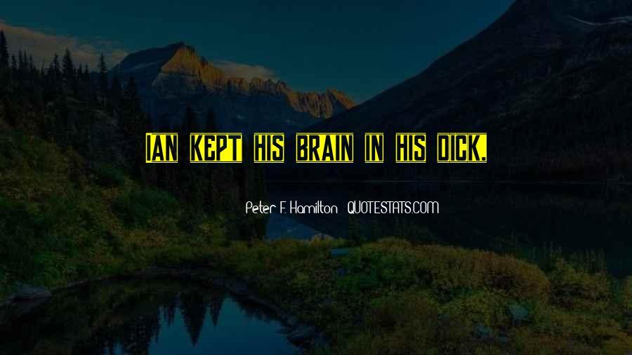 Peter F. Hamilton Quotes #797596