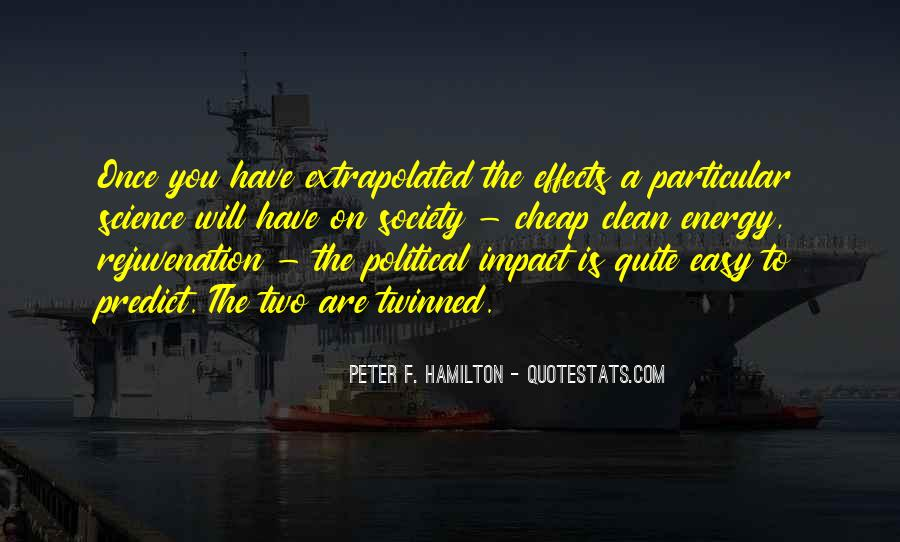 Peter F. Hamilton Quotes #820158