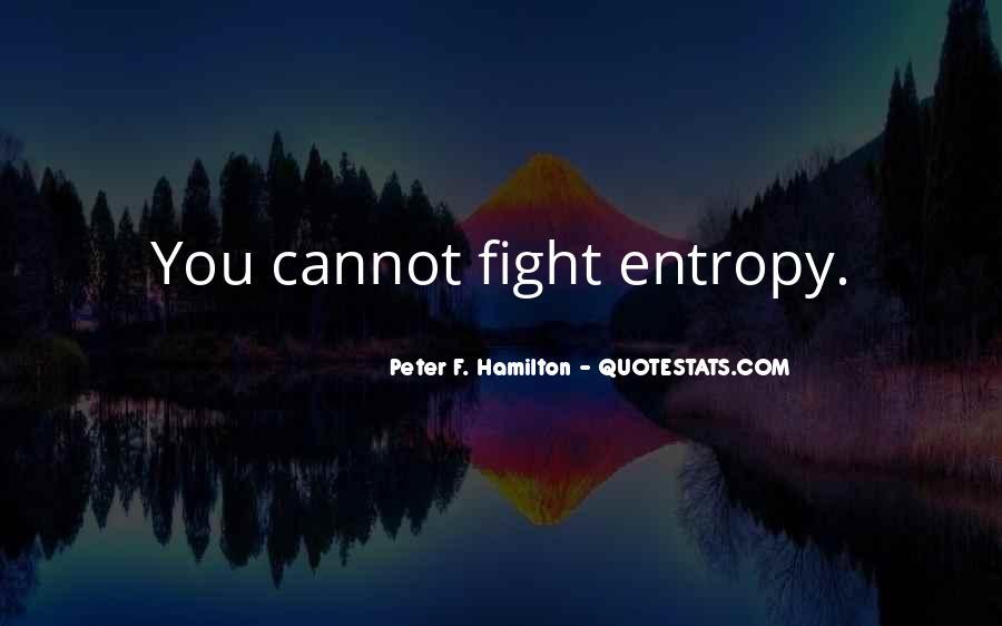 Peter F. Hamilton Quotes #827685