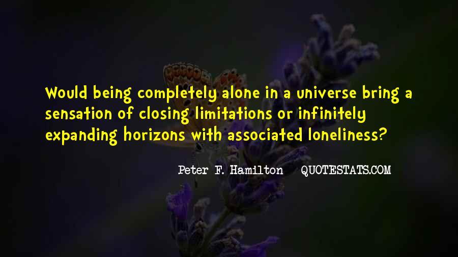 Peter F. Hamilton Quotes #896622