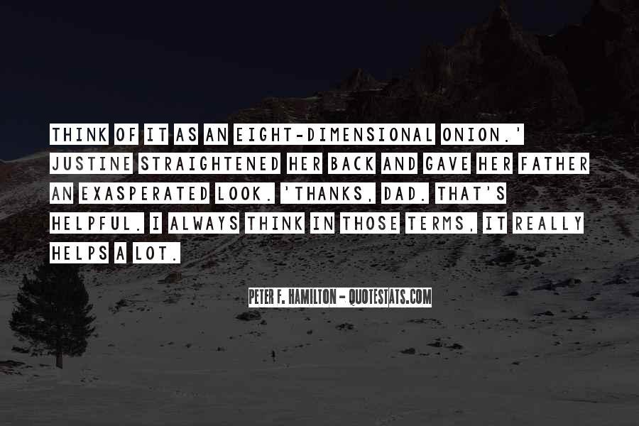 Peter F. Hamilton Quotes #929633