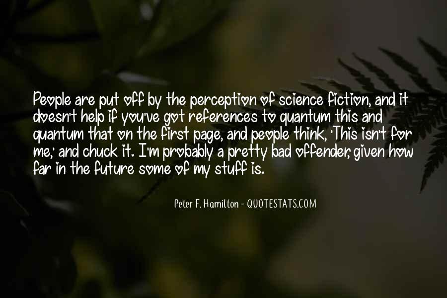 Peter F. Hamilton Quotes #959681