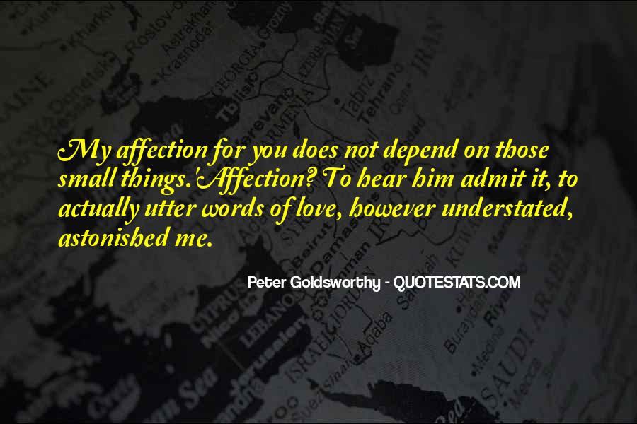 Peter Goldsworthy Quotes #959203