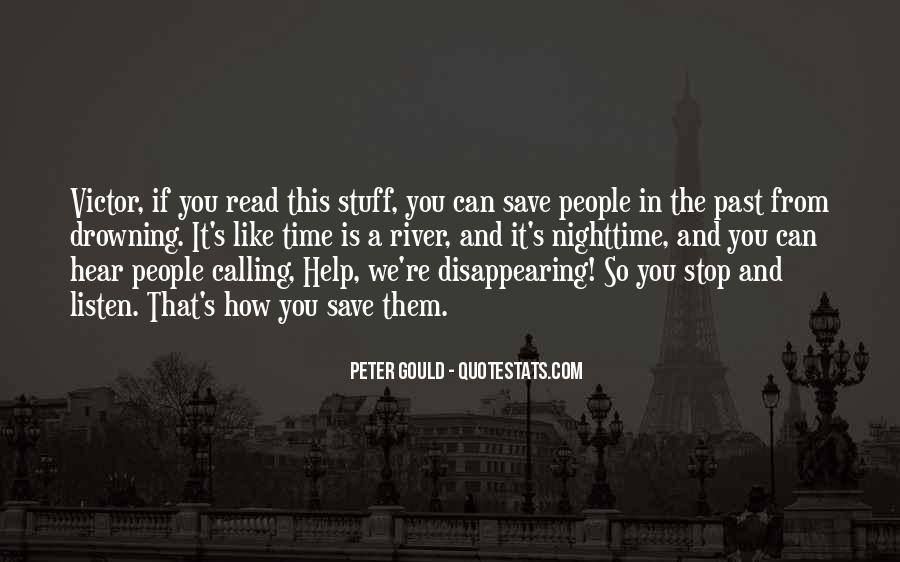 Peter Gould Quotes #1033452
