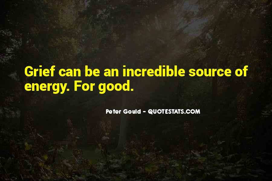 Peter Gould Quotes #1274881