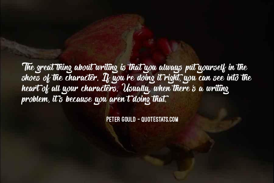 Peter Gould Quotes #142258