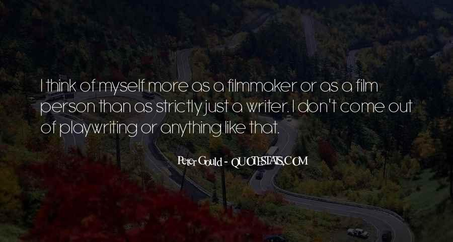 Peter Gould Quotes #227498