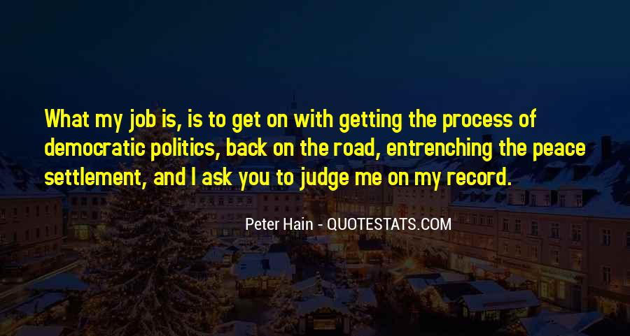 Peter Hain Quotes #1754521