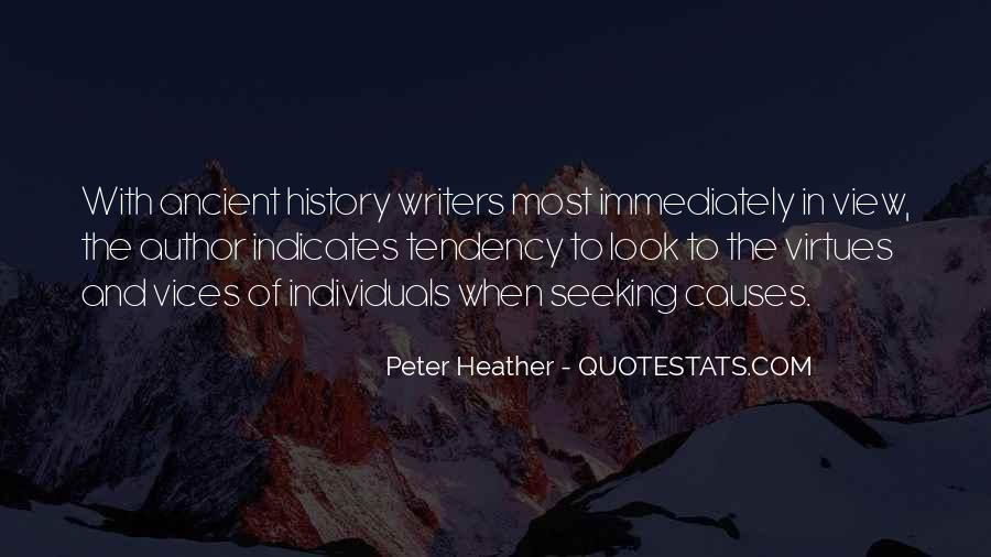 Peter Heather Quotes #1037225