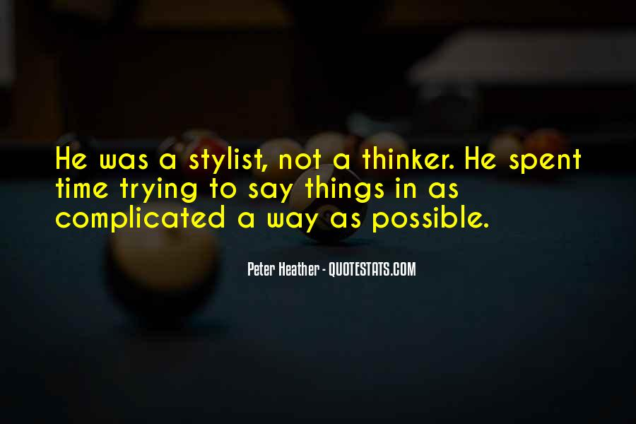 Peter Heather Quotes #1363246