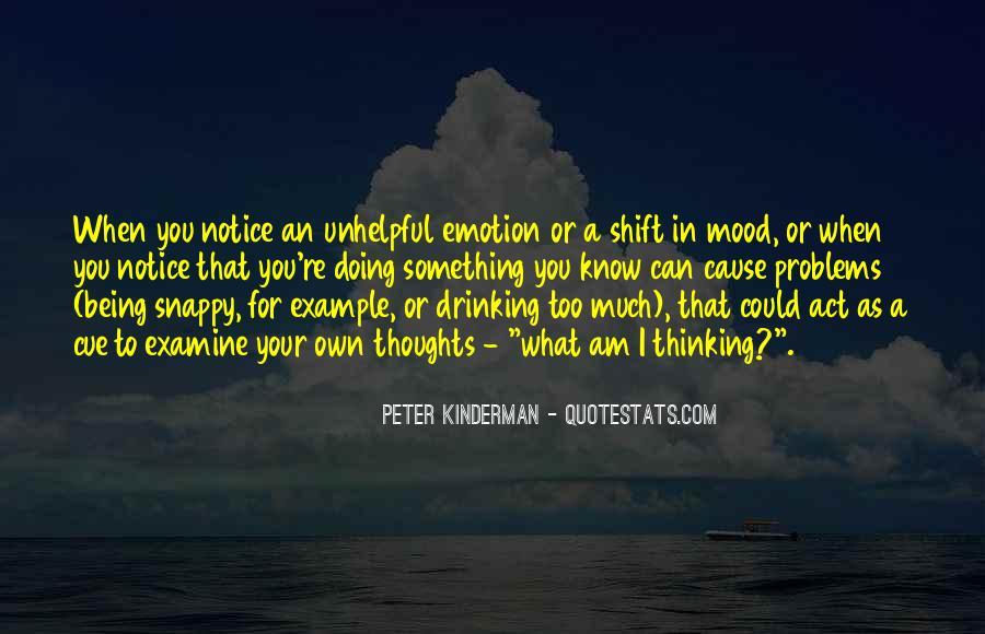 Peter Kinderman Quotes #34355