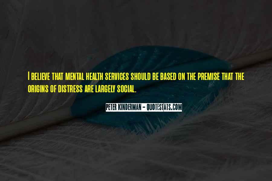 Peter Kinderman Quotes #399565