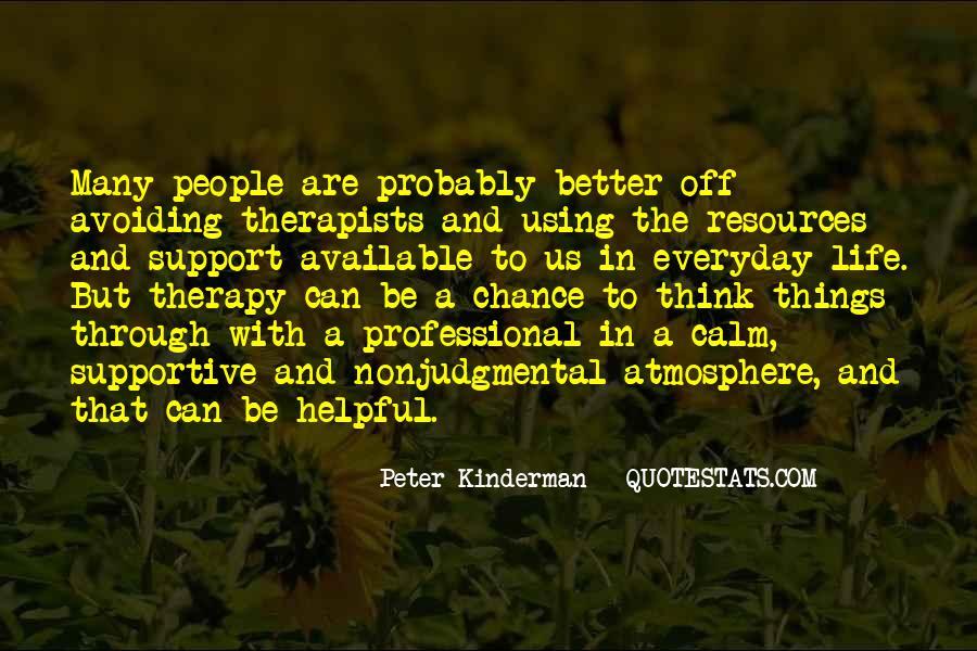 Peter Kinderman Quotes #423099