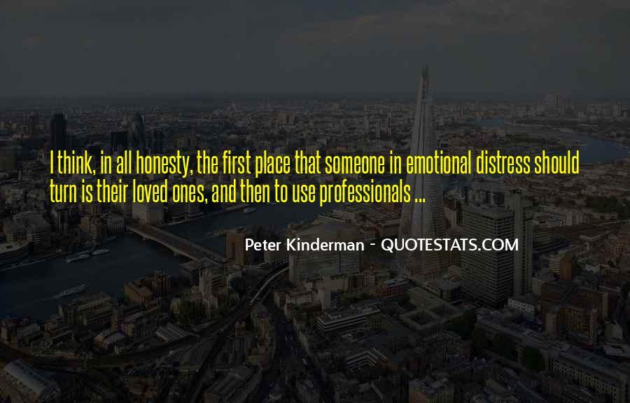 Peter Kinderman Quotes #97615