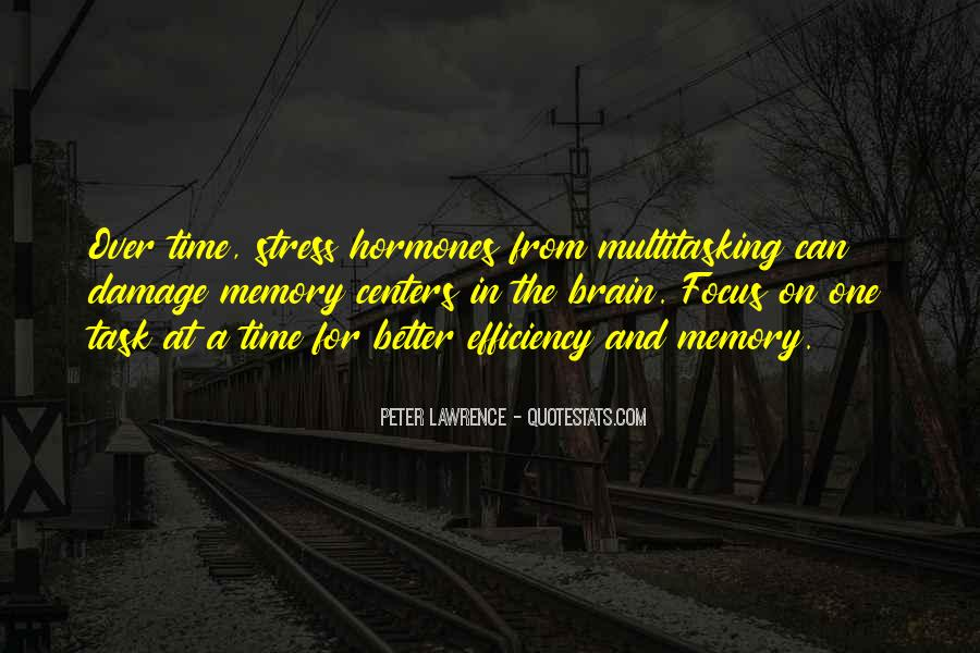 Peter Lawrence Quotes #12544