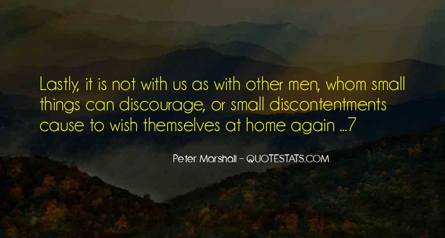 Peter Marshall Quotes #1499484