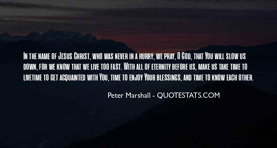 Peter Marshall Quotes #150977