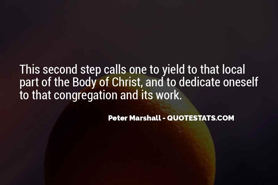 Peter Marshall Quotes #1740075