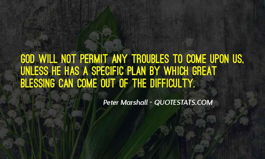 Peter Marshall Quotes #254912