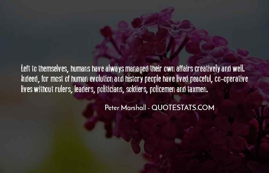 Peter Marshall Quotes #344117