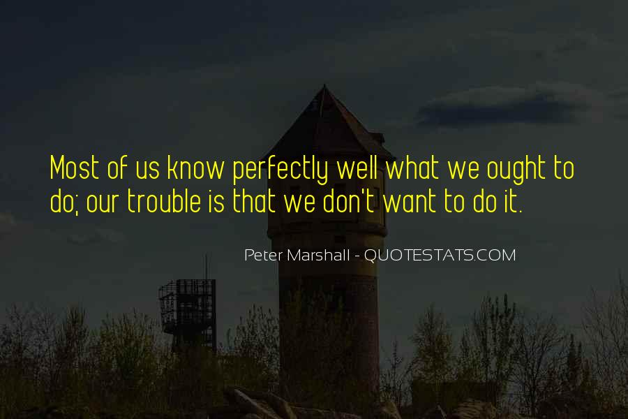 Peter Marshall Quotes #753698