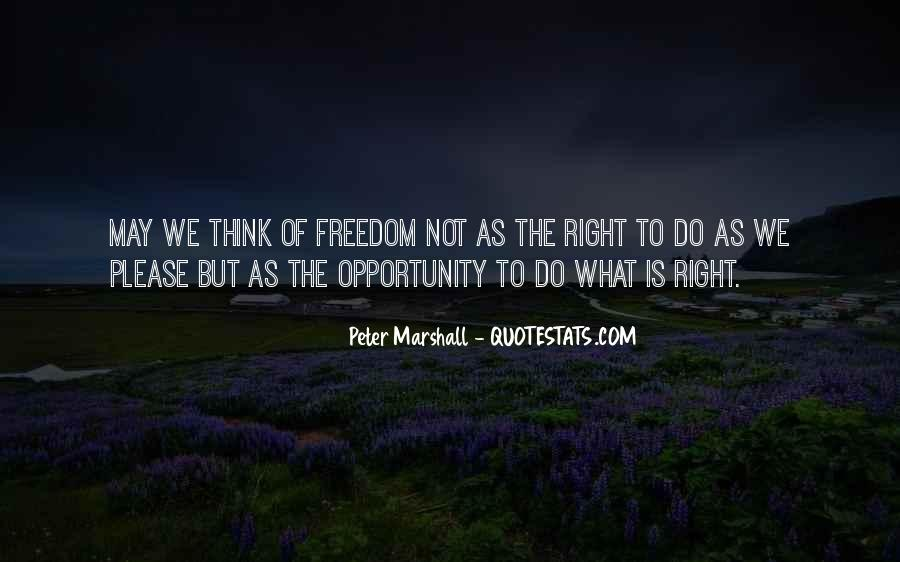 Peter Marshall Quotes #797627