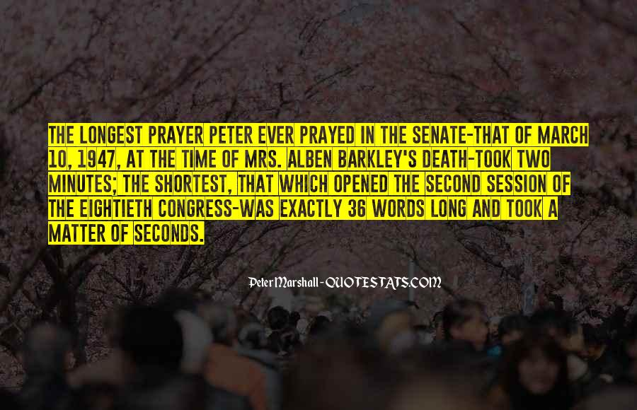 Peter Marshall Quotes #806678