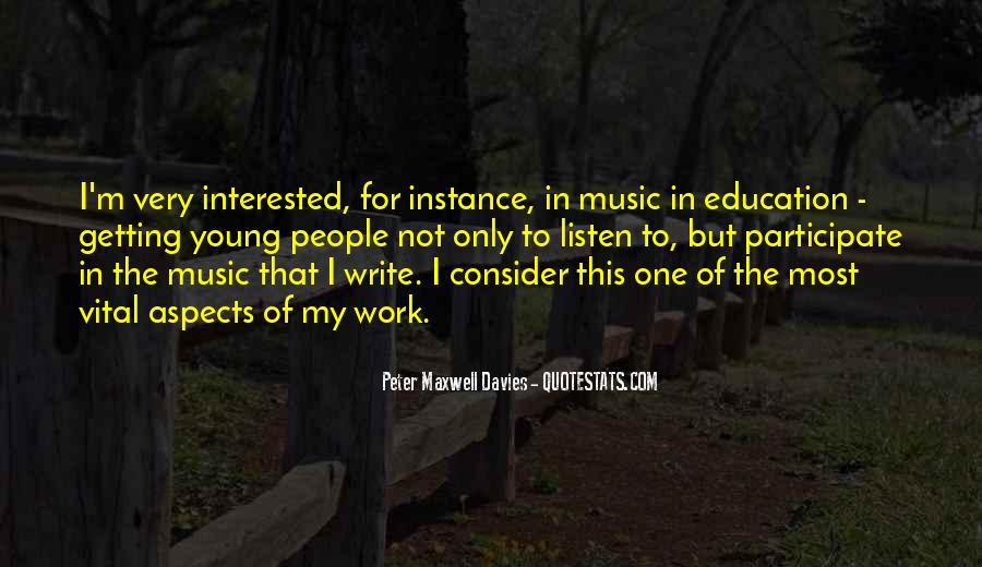 Peter Maxwell Davies Quotes #1100382