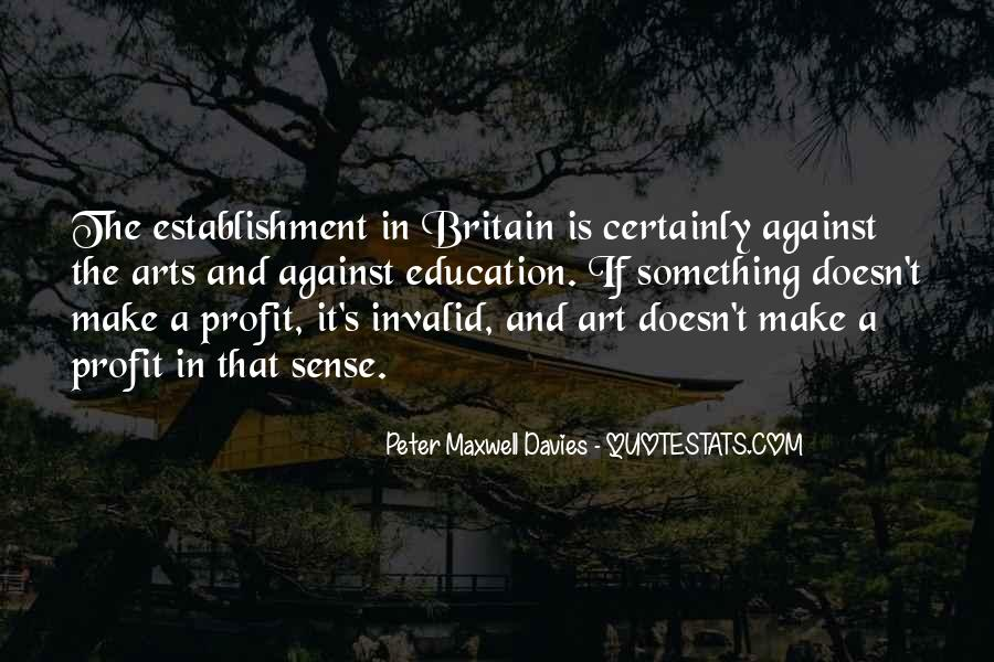 Peter Maxwell Davies Quotes #123951
