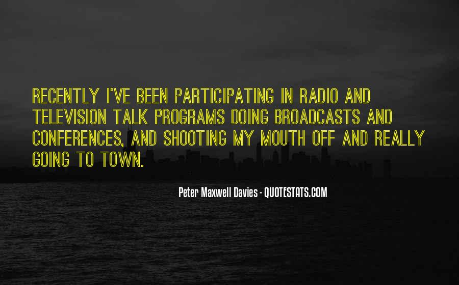 Peter Maxwell Davies Quotes #444998