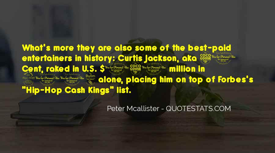 Peter Mcallister Quotes #786788