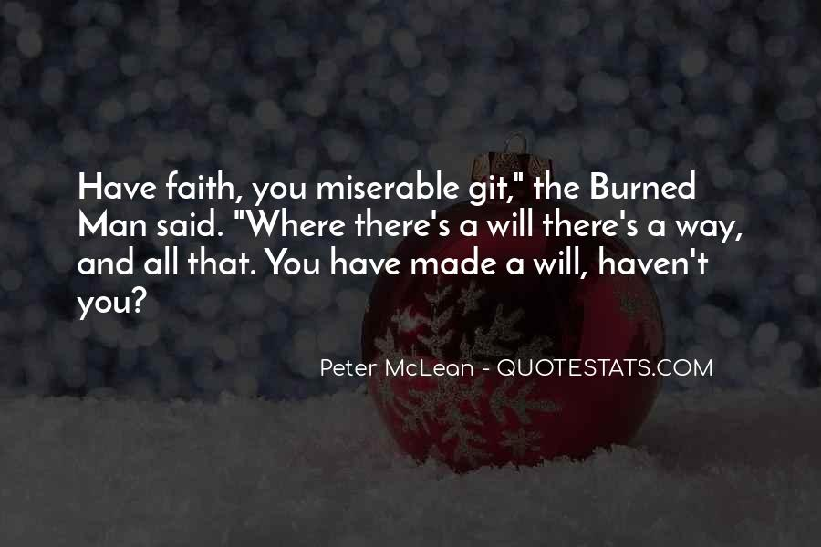Peter McLean Quotes #170709